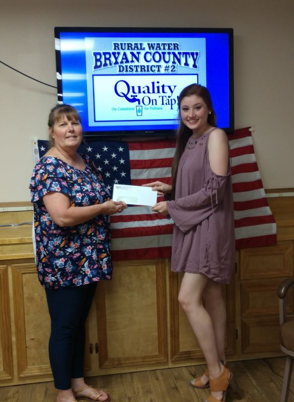 2019 Scholarship Recipient - Hannah McDonald